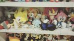 Sonic plushies by sSflowerSs