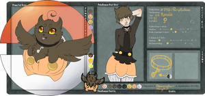PMA: Kenzie Boo - Reference sheet by CaptainClovey