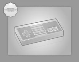 NES Pad by Silver-PyroTech