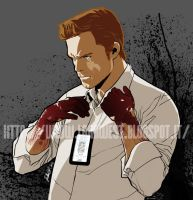 Dexter - The Dark Passenger by elena-casagrande