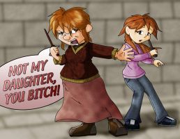 Mother Weasley by murf-guy