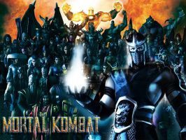 Mortal Kombat by BurningxDagger