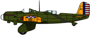 Caroline the Curtiss A-8 by KirovRampager