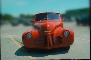 Red Chevrolet by proverbialcheese