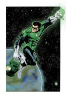 Green Lantern by mike-mcgee