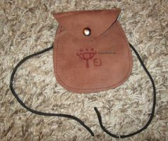 Personalized leather Shiekah bag by MaguschildCloud