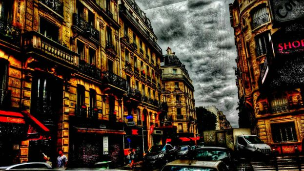 Busy Streetscape  by khanf