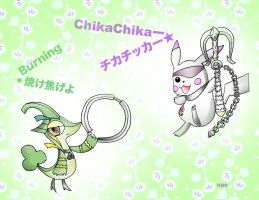 ChikaChu and Narija - BaSaMoN by nyokoa