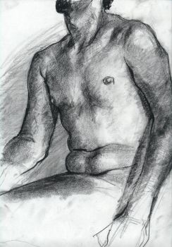 Nude Sketch 1 by Blacleria
