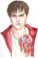 Warm bodies fan art by Angela-Chiappini