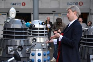 The Doctor and the Daleks (4) by masimage