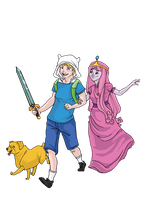 Adventure Time by KittyNamedAlly