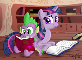 Reading Time by AleximusPrime