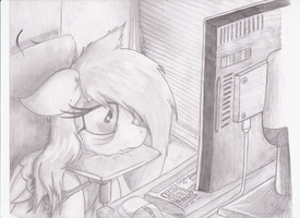 WIP: Tired... by Zephyter0