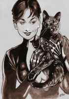 Catwoman Ink by jefterleite