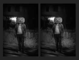 Pumpkin Mask [stereo 3D] by akrialex