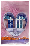 Window of heart by guni03