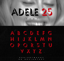 25 Font - Adele by RADIANTWH0R3