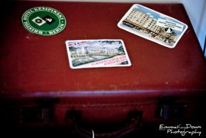 Vintage travel stickers. Day 159 - 08/06/13 by oEmmanuele
