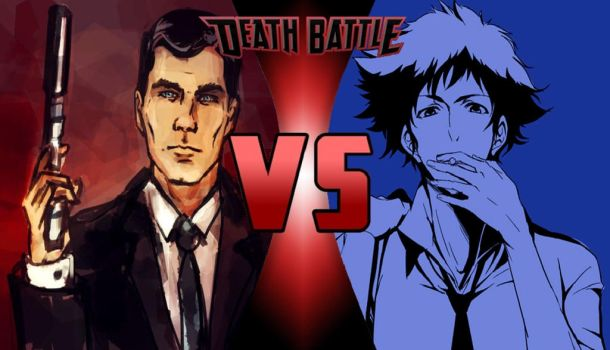 Match Claim: Spike Spiegel vs. Sterling Archer by Phantasm-Of-Grey34