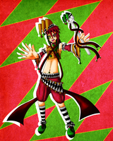Jolly Harlequin by snowflare123