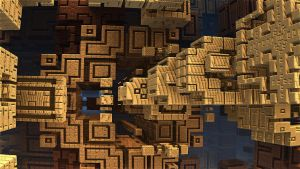 bricks with annual rings by jost1
