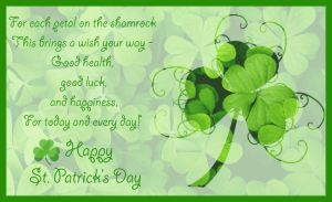 For Each Petal on the Shamrock by Jenna-Rose