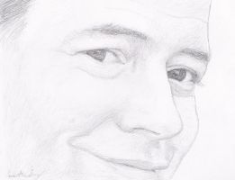 Matthew Broderick - Face study by K1D6R4Y