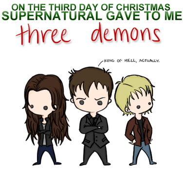 Supernatural Christmas Song 3 by musicalirony