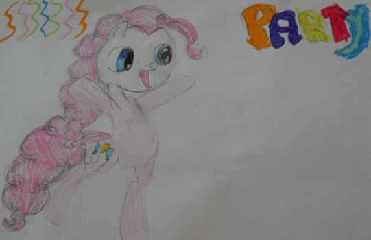 pinkie pie old drawing by sundash8