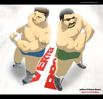 JerBear vs Barrio Bruiser by beardrooler