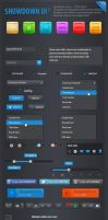 Showdown User Interface Elements by tommiek