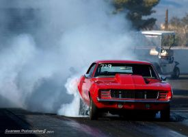 Smokin Red Camaro by Swanee3