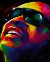 STEVIE WONDER by JALpix
