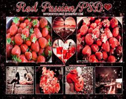 #-RedPassion/PSD. by differentfeelings
