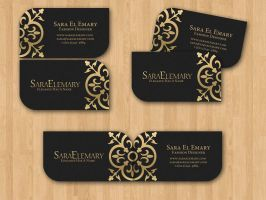 Sara El Emary Business Card by XtrDesign