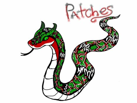 Patches the snake by shadowclaw123456789