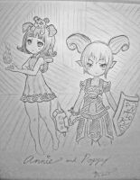 annie and poppy league of legends lolis by astral1224