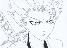 Toshiro Hitsugaya #2 by IXcutionI