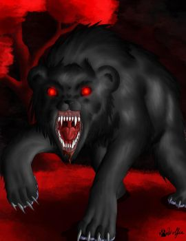 Hell Bear by Vigthy