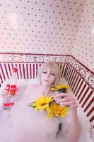 Hetalia: Russia Hot Vodka bath XD by palecardinal