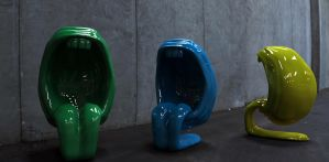 What's Up Colored Chairs by HereticTemplar