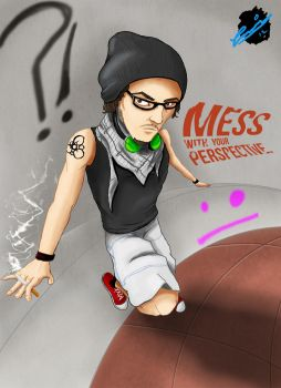 Mess With Perspective by Carge