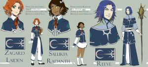 Dalas Magic School Uniforms by RinoaPereira
