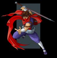strider hiryu by nightwing1975