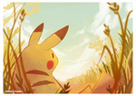Pikachu by spaded-square