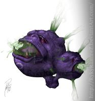 Weezing by rykyramirez