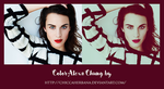 Color psd Alexa Chung by chiccaherbana