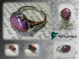 Sassana - purple color-changing ring by TealpandaArtifacts