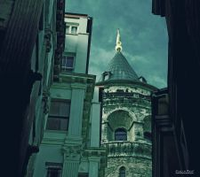 Galata Tower III by sezp